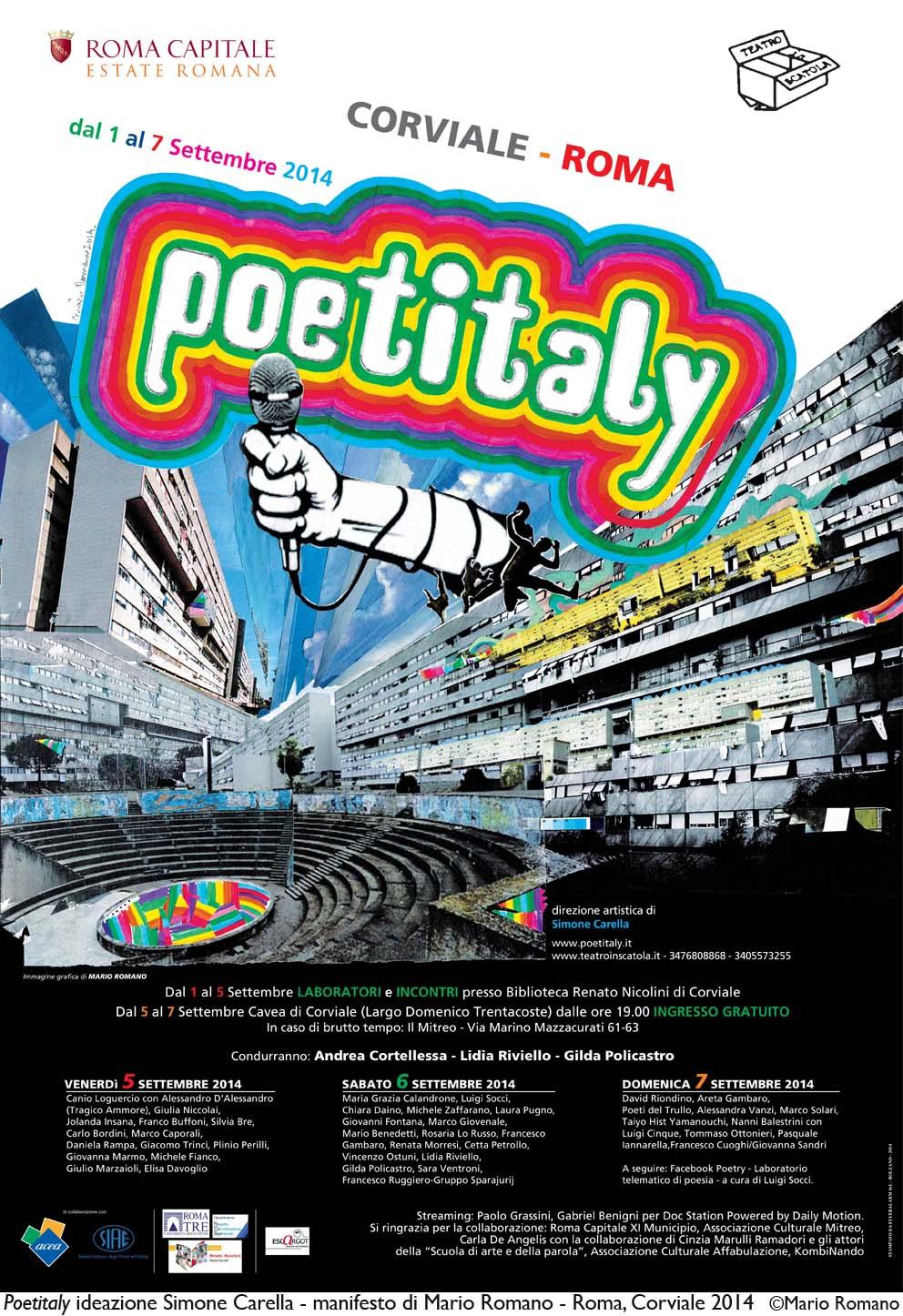 Manifesto Poetitaly 2014_di Mario Romano