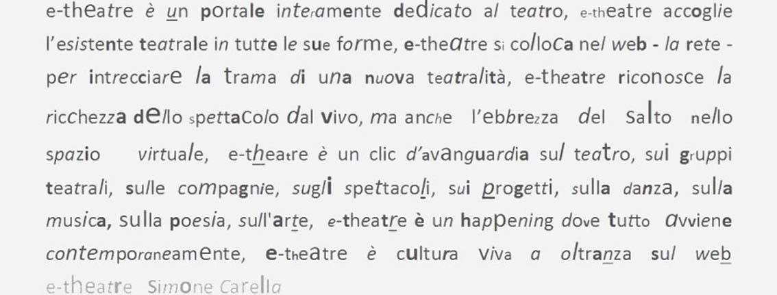 Manifesto e-theatre