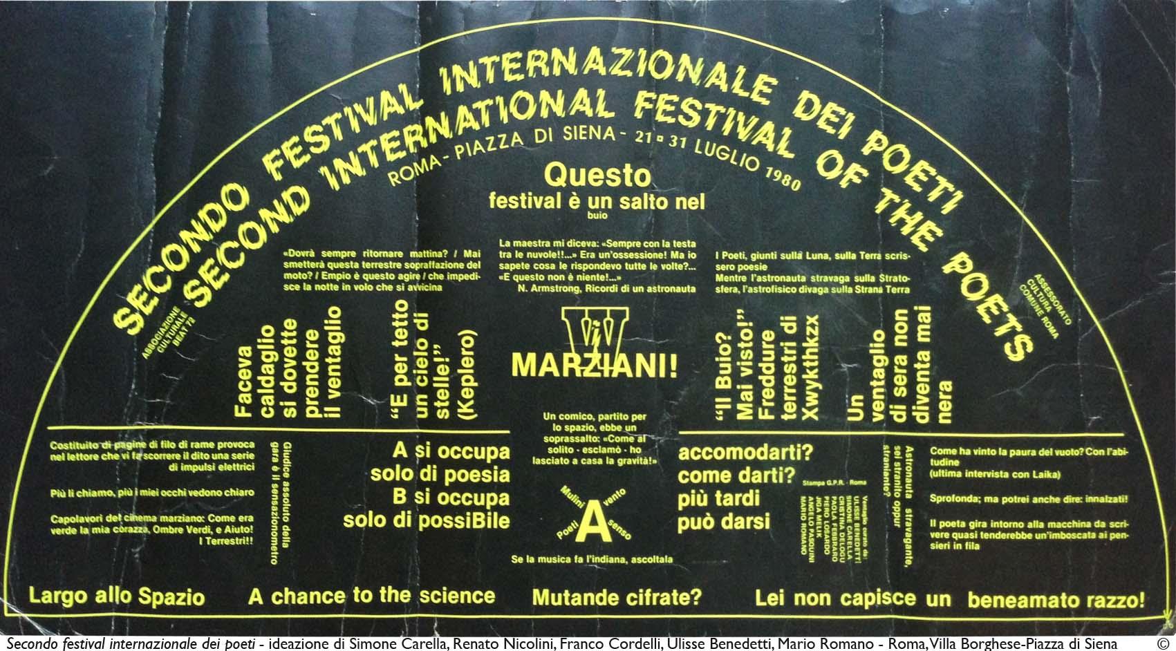 Secondo Festival dei Poeti_1 - 1980