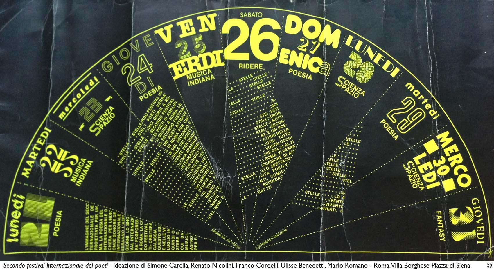 Secondo Festival dei Poeti_2 - 1980