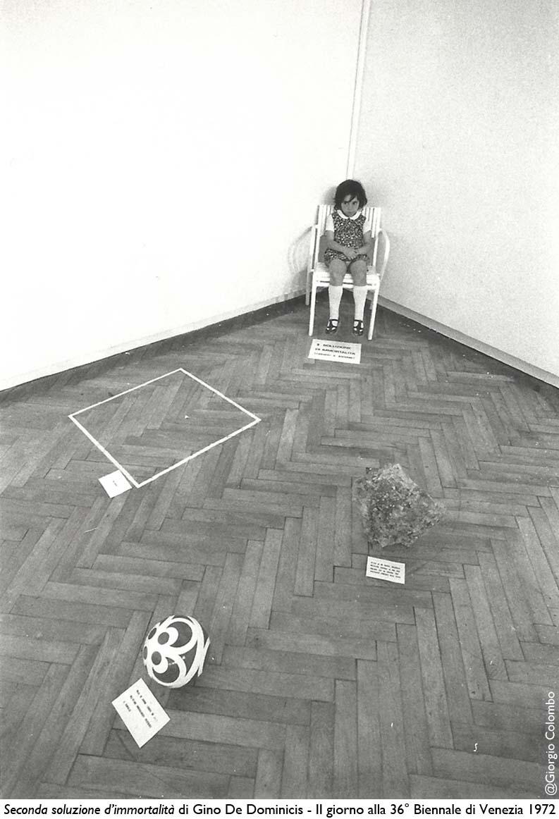 Gino DeDominicis-36Biennale Venezia_1972-@Giorgio Colombo