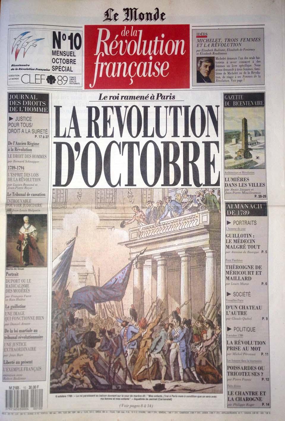 Giornale di Radio Revolution Française N°10